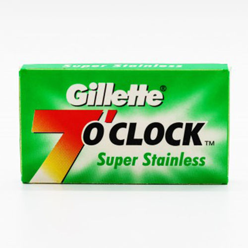 GILLETTE 7 o´clock Super stainless . 5 blades
