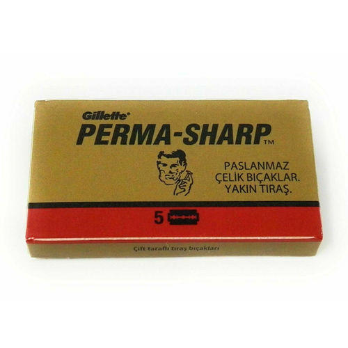 GILLETTE Perma-sharp . 5 blades